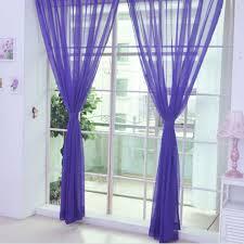 online get cheap purple curtains transparent aliexpress com