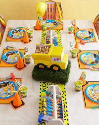 construction party ideas construction pals birthday party birthday express