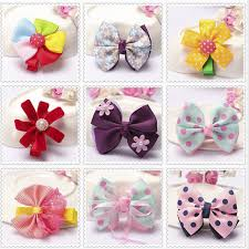 diy baby hair bows colorful patchwork new baby hair bow ribbon hair band handmade diy