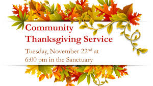 baptist church covington ga community thanksgiving service