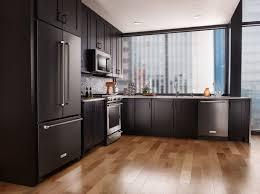 black appliances kitchen ideas kitchen kitchen ceiling lighting modern kitchen with black