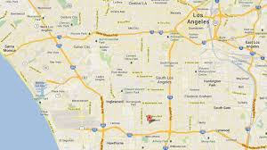 La County Map 1 Dead 1 Injured In South Los Angeles Shooting Abc7 Com