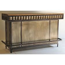 Metal Bar Cabinet Mango And Metal Contemporary Bar Cabinet Manava Rc Willey