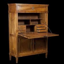 Secretary Style Desk by Fruitwood Secretary Desk Louis Xvi Style Expertissim