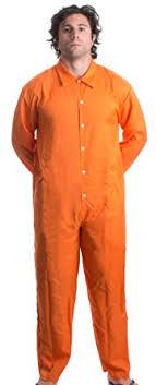 prison jumpsuit costume amazon com arbor t shirt co prisoner jumpsuit orange