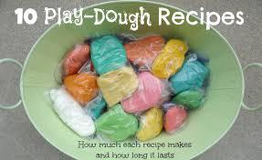 printable playdough recipes we love being moms 10 homemade play dough recipes