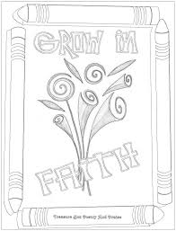 faith coloring pages fablesfromthefriends com
