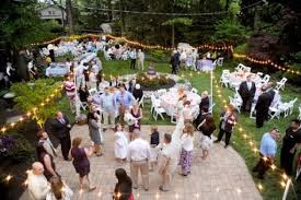 Outdoor Wedding Decoration Ideas Triyae Com U003d Casual Backyard Wedding Decoration Ideas Various
