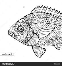 zen patterns coloring pages fish coloring book fish coloring pages free printable fish
