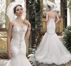 wedding dress with bling white beaded wedding dress bling 2015 mermaid beaded wedding