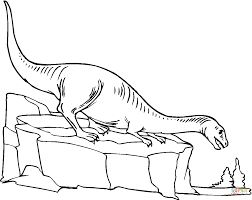plateosaurus 11 coloring page free printable coloring pages