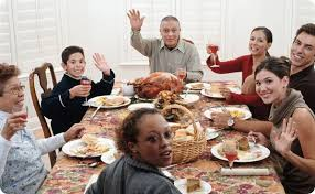 be on the box around the thanksgiving table wcus