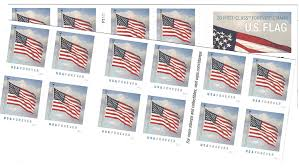 How Many Stars On The United States Flag Amazon Com Us Flag Usps Forever Stamps Book Of 20 2016 New