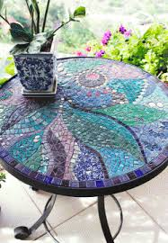 Mosaic Patio Table Top by How To Make Mosaics Very Complete Web Page With Lots Of Info