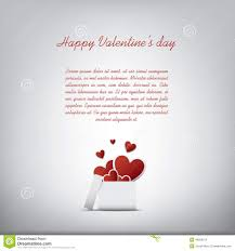 valentine u0027s day card concept with presents or stock vector image