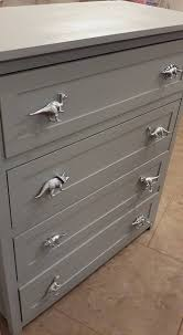 drawer pulls spray paint plastic dinosaurs and on to