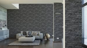 steintapete beige wohnzimmer steintapete grau wohnzimmer haus design ideen