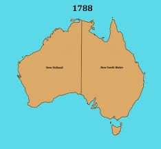 Colonial America 1776 Map by Australian States Extended Comments For Students