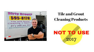 Grout Cleaning Products Tile And Grout Cleaning 2017 Products Not To Use And More Youtube