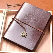 vintage leather photo album leather vintage handmade diy photo album kraft scrapbooking book