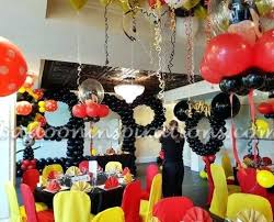 Fascinating Mickey Mouse Party Decoration Mickey Mouse Party