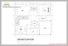Duplex House Plans 1000 Sq Ft Sq Feet Floor Plan And Elevation Kerala 2017 With First Of 1000