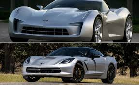 cars that look like corvettes top 10 production cars that don t look like their concept cars