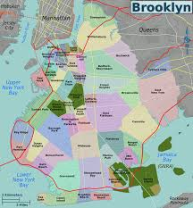 Map Of Manhattan New York City by List Of Brooklyn Neighborhoods Wikipedia