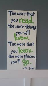dr seuss read hand painted wood sign daycare classroom childs