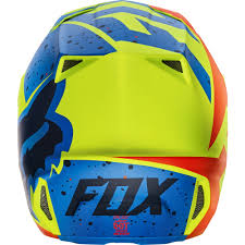 fox motocross helmets fox v2 nirv mx17 helmet