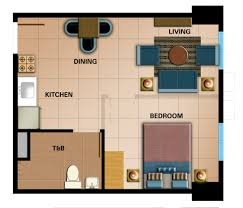 floor plan studio type real estate philippines condo house and lot properties for sale