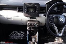 Suzuki Ignis Interior Maruti Suzuki Ignis Launch Tomorrow Cars Arrive At Dealership