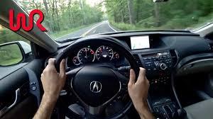 lexus tsx wagon 2013 acura tsx wagon tedward pov test drive binaural audio