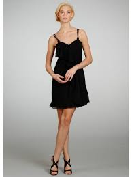 line sweetheart spaghetti straps short chiffon bridesmaid dresses