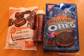 halloween oreos with fudge topping family food and travel
