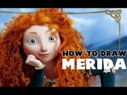 draw merida brave