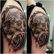 black and grey rose tattoo meaning tag lion and rose tattoo