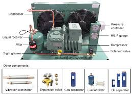 bitzer cold room condensing unit u0026 refrigeration compressor