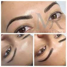 makeup classes in ta fl before after and healed micro blade eyebrow tattoo these