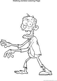zombie coloring coloring pages holidays seasons