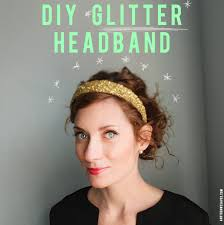 glitter headbands how to make a glitter headband so easy and then we saved