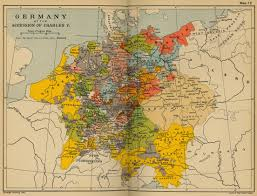 Holy Roman Empire Map Germany At The Accession Of Charles V Cosmolearning History