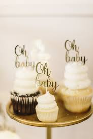 white and gold baby shower a modern tropical baby shower the sweetest occasion