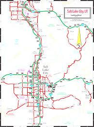 Utah Map Of Cities by Google Map Of Salt Lake City Utah Usa Within Map World Slc Ut