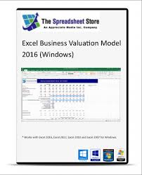 Discounted Flow Analysis Excel Template Excel Business Valuation Model Discounted Flow Valuation Excel