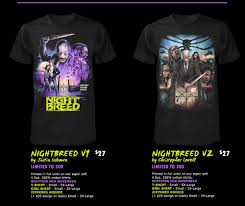 pics new nightbreed tees from fright rags yell magazine