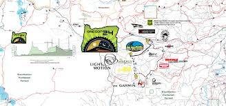 Bend Oregon Map Maps Posted For High Cascades 100 And Oregon 24 Mudslinger