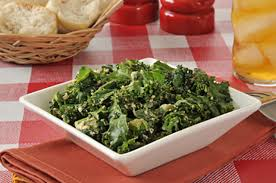 detox spicy kale salad