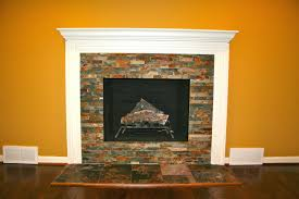stone veneer fireplace hearth pictures tile over brick cost