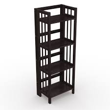 bookshelf design for home interior simple folding bookcase design ideas made from teak